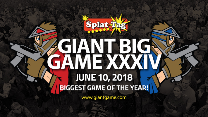 Biggest paintball game in the Midwest, the Giant Big Game!