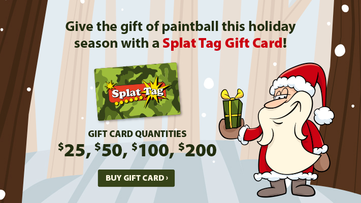 Give the gift of paintball